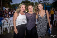 Ana Quezado, Celma Prata e Camila Bitar