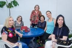 Maruzia Carvalho, Marise, Stella e Edyr Rolim,  Ticiana Rolim Queiroz e Vânia Macedo