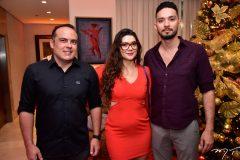 Bruno Franca, Ana Carla Pio e Daniel Guerra