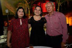 Livia Ramos, Ivna Siqueira e Wilson Ramos