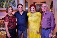 Maria e Welmar Moreira, Josilda e Walter Bechior