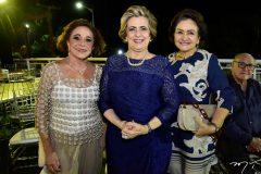 Suely Belem, Regina Aragao e Barbara Freire