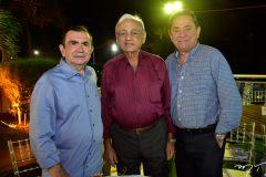 Vicente Belchior, Leoni Belem e Rogerio Cristino