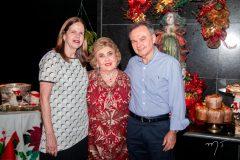 Eveline Farias, Consuelo Dias Branco e Adalto Farias