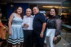 Ana Maisa, Adauto Bezerra, Teodoro Santos e Silvana Bezerra