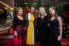 Lúcia Pierre, Márcia Travessoni, Mônica e Emanuele Arruda
