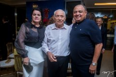 Silvana e Adauto Bezerra e Teodoro Santos