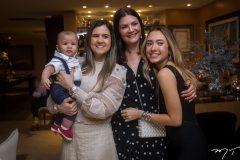 Vinícius, Nekita Montenegro, Liliana Farias e Lissa Dias Branco