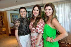 Liliana Farias, Andrea Romero e Thamara Azevedo