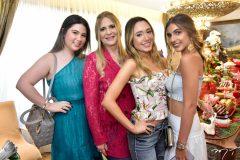 Marcela, Morgana, Lissa Dias Branco e Raissa Ciriaco