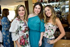 Suyanne, Marcela e Lissa Dias Branco
