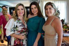 Suyanne e Marcela Dias Branco e Lea Freitas