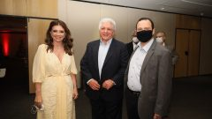 Emília Buarque, Deusmar Queirós e Igor Queiroz Barroso