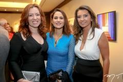 Aline Barroso, Manoela Bacelar e Márcia Travessoni