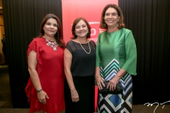 Celina Castro Aves, Ana Maria Studart e Daulia Chaves