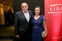 Cristiano e Luzia Maia