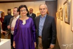 Dodora Guimarães e Max Perlingeiro