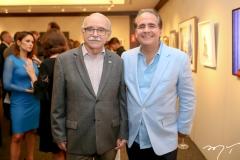 Edinilton Soarez e Ricardo Bacelar