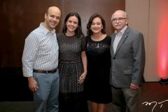 Henrique, Veridiana, Leninha e Edinilton Soarez