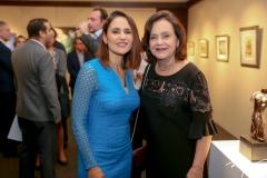 Manoela Bacelar e Leninha Soarez