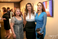 Maria Vital, Márcia Travessoni e Manoela Bacelar