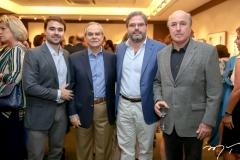 Max Perlingeiro Filho, Max Perlingeiro, Edson Queiroz Neto e Silvio Frota