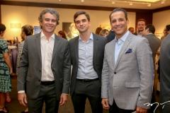 Ronaldo Barbosa, Adriano Huland e Raul Amaral