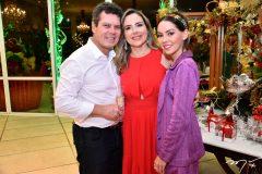 Cláudio, Suyane e Natasha Dias Branco