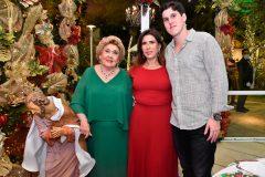 Consuelo, Regina e Marcelo Dias Branco