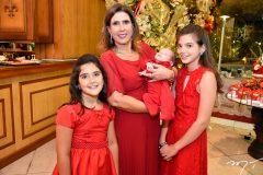 Giovana, Regina e Giulia Dias Branco