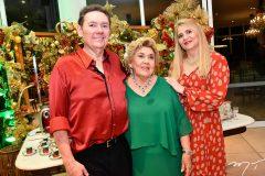 Ivens Jr., Consuelo e Morgana Dias Branco