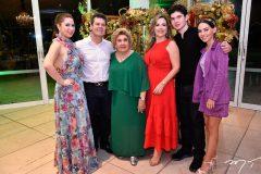Marcela, Claudio, Consuelo, Suyane, João Claudio e Natasha Dias Branco