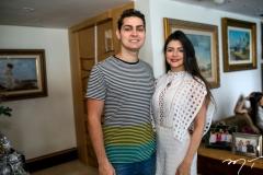 Kleber Alves e Roberta Romcy