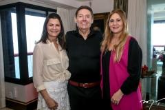 Lilian Farias, Ivens e Morgana Dias Branco