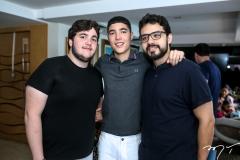 Luciano e Luca Dias Branco e Magno Pimentel