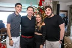 Luca, Ivens, Lissa e Luciano Dias Branco