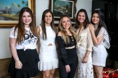 Marcela Dias Branco, Nekita Romcy, Lissa Dias Branco, Lilian Farias e Roberta Romcy