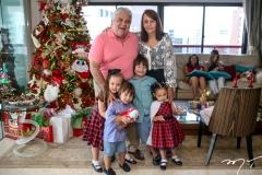 Moises, Estela, Miguel, Moises, Olivia e Regina Pimentel