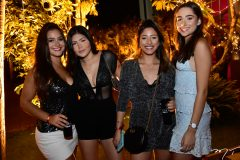 Gabriela Navarro, Maria Helena Nogueira, Isabela Moraes e Jamile Pinto