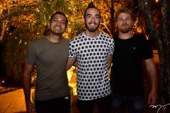 Rodrigo Sales, Bernardo Bezerra e Guilherme Brian