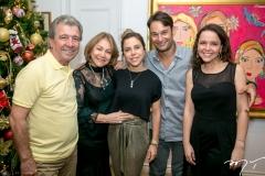 Antonio e Marcia Freire, Mirella e Claudio Rocha e Marina Freire