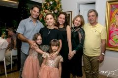 Claudo, Yolanda,Beatriz e Mirella Rocha, Marina, Marcia e Antonio Freire