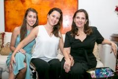 Isabel, Viviane e Cristina Rocha