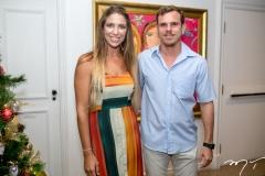 Linda Vasques e Daniel Rocha
