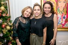 Marcia Freire, Mirella Rocha  e Marina Freire