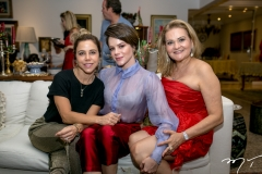 Mirella Rocha, Paulinha Sampaio e Lenise Rocha