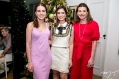 Natasha, Nicole e Sandra Pinheiro