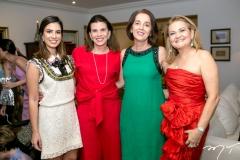 Nicole Pinheiro, Sandra Pinheiro,Lurdes Porto e Lenise Rocha