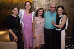 Karla Ximenes, Fernanda Nogueira, Ana Paula Menezes, Francisco José Fernandes e Niedja Bezerra