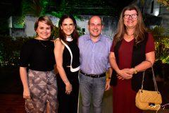 Kirla Poti, Niedja Bezerra e Roberto Cláudio e Joana Paiva